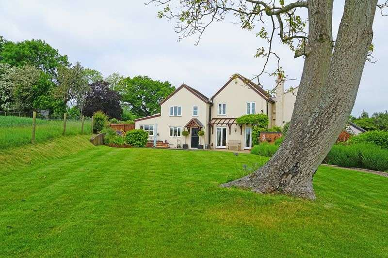 3 Bedrooms Semi Detached House for sale in Bosbury, Nr Ledbury HR8 1HE