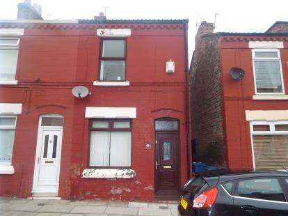 2 Bedrooms Terraced House for sale in Kilarney Road, Liverpool, Merseyside, L13