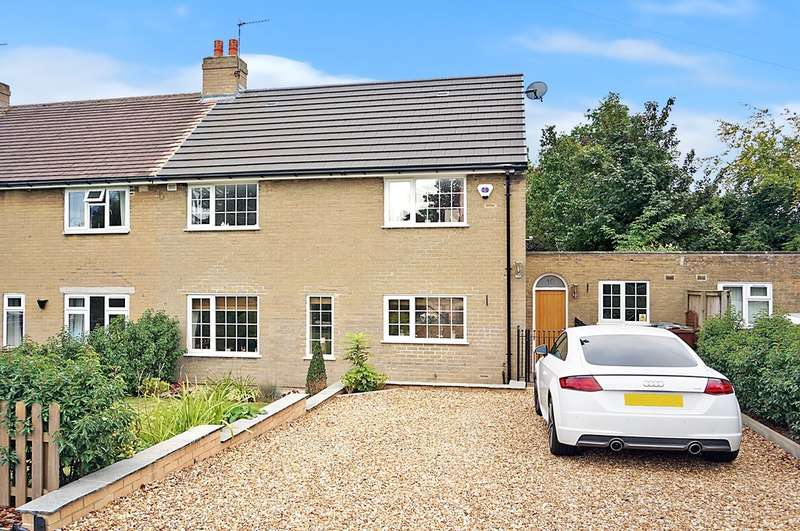 3 Bedrooms Semi Detached House for sale in Wickham Avenue, Boston Spa, Wetherby, LS23 6NJ