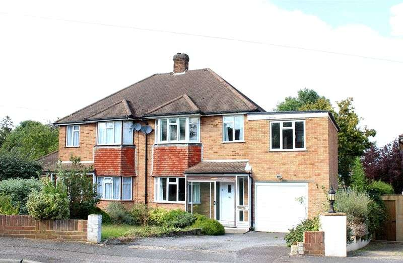 4 Bedrooms Semi Detached House for sale in Courtlands Close, Sanderstead