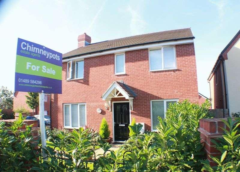 4 Bedrooms Detached House for sale in Greenacres Road, Locks Heath