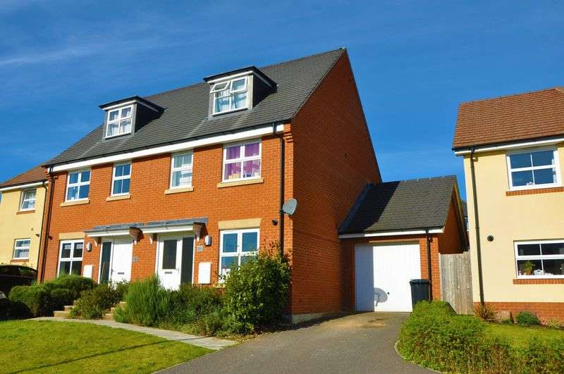 3 Bedrooms Semi Detached House for sale in Ryeland Way, Andover