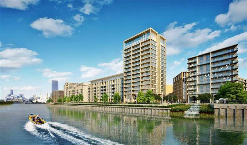 3 Bedrooms Property for sale in Barrier Building, Royal Wharf, London