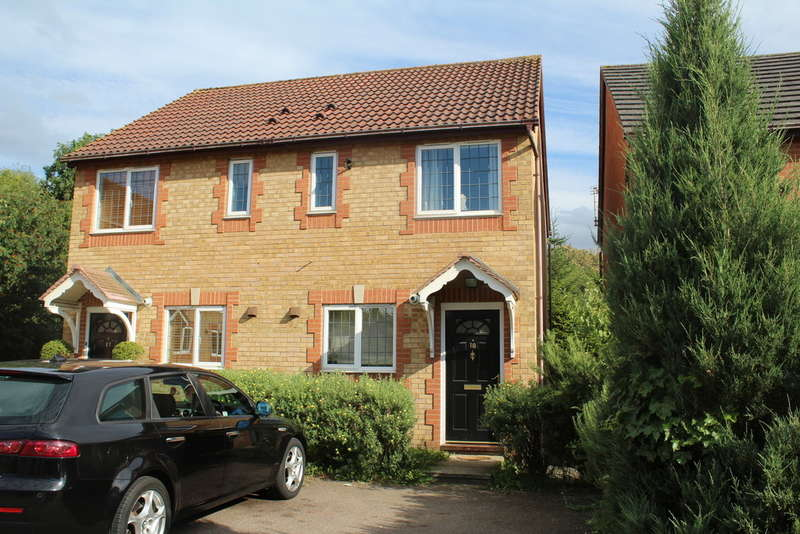 2 Bedrooms Semi Detached House for sale in Lornasfield, Hampton Hargate, Peterborough, PE7 8AY