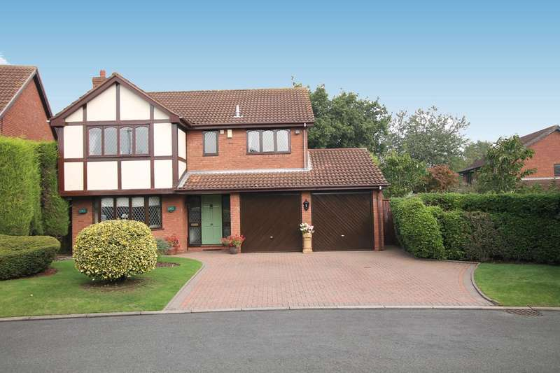 4 Bedrooms Detached House for sale in Trewman Close, Walmley, Sutton Coldfield, B76 1GN