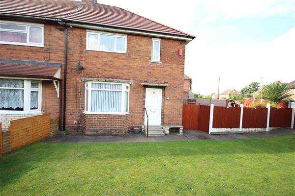 3 Bedrooms Semi Detached House for sale in Emsworth Road, Blurton, Stoke-on-Trent
