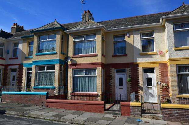 3 Bedrooms Terraced House for sale in Browning Road, Plymouth, Devon