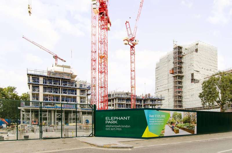2 Bedrooms Flat for sale in Elephant Park, Elephant and Castle, SE17
