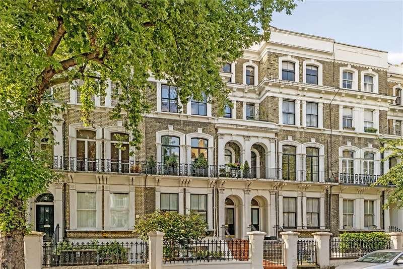 2 Bedrooms Maisonette Flat for sale in Redcliffe Gardens, London, SW10