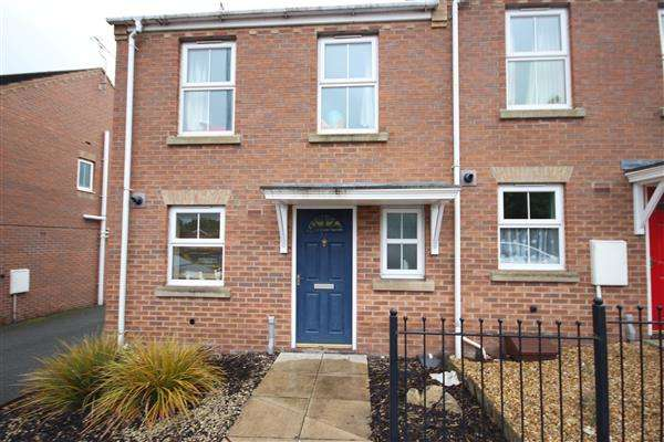 2 Bedrooms End Of Terrace House for sale in Furlong Road, Tunstall, Stoke-on-Trent