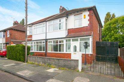 3 Bedrooms Semi Detached House for sale in Salcombe Road, Stockport, Greater Manchester