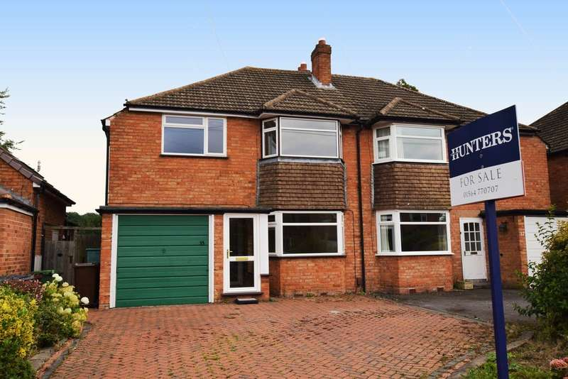 3 Bedrooms Semi Detached House for sale in Hurst Green Road, Bentley Heath, Solihull
