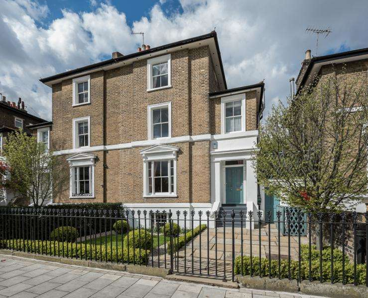 4 Bedrooms Semi Detached House for sale in Stockwell Park Road, Stockwell, London, SW9