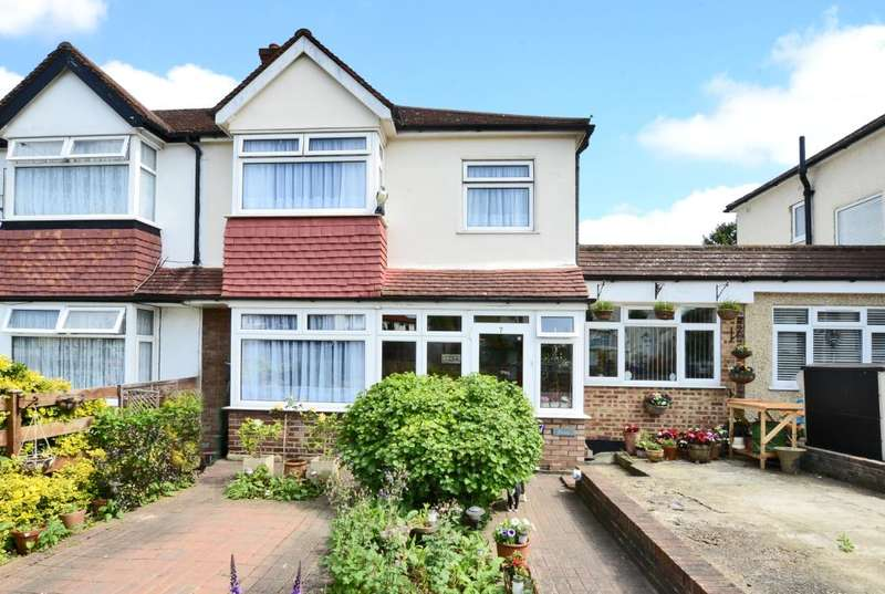 4 Bedrooms Semi Detached House for sale in Inverness Road, Worcester Park, Surrey, KT4