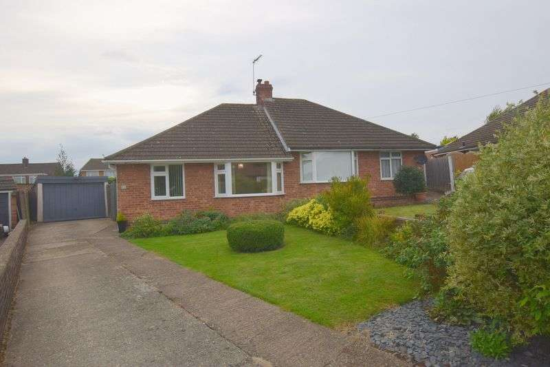 2 Bedrooms Semi Detached Bungalow for sale in Wordsworth Drive, Bletchley, Milton Keynes