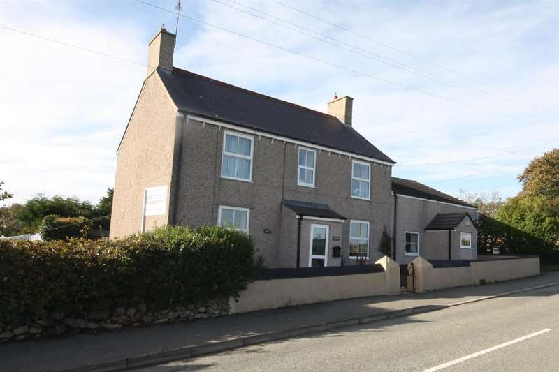 5 Bedrooms Detached House for sale in Hendy, Lon Amlwch, Rhosybol