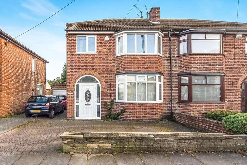 3 Bedrooms Semi Detached House for sale in Hylion Road, LEICESTER, LE2