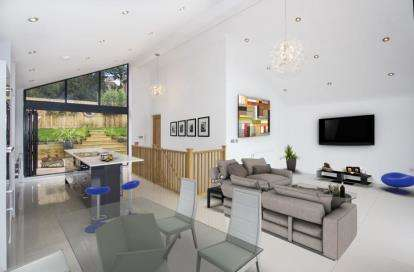 4 Bedrooms Detached House for sale in Corfe View Road, Poole, Dorset