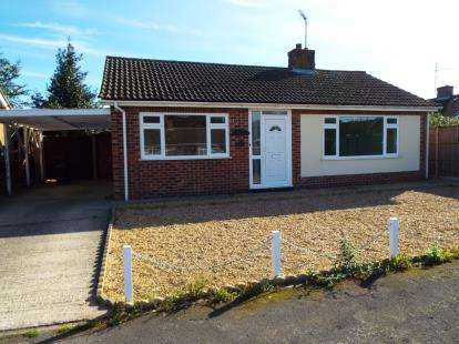 2 Bedrooms Bungalow for sale in Downham Market, Kings Lynn, Norfolk