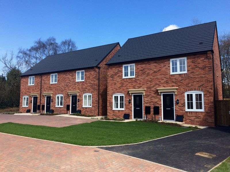 2 Bedrooms Semi Detached House for sale in Weavers Hill, Pleasley Hill, Mansfield