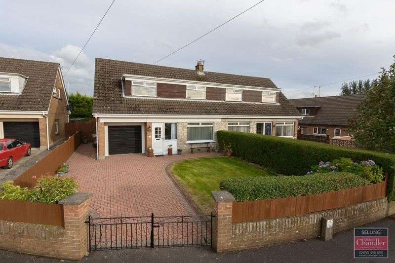 3 Bedrooms Semi Detached Bungalow for sale in 3 Marlborough Crescent, Carryduff, BT8 8NP