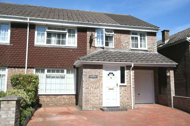 4 Bedrooms Semi Detached House for sale in Raglande Court, Llantwit Major