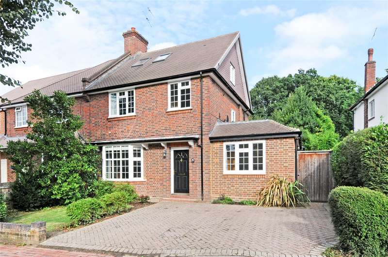 5 Bedrooms Semi Detached House for sale in Dalmore Avenue, Claygate, Esher, Surrey, KT10