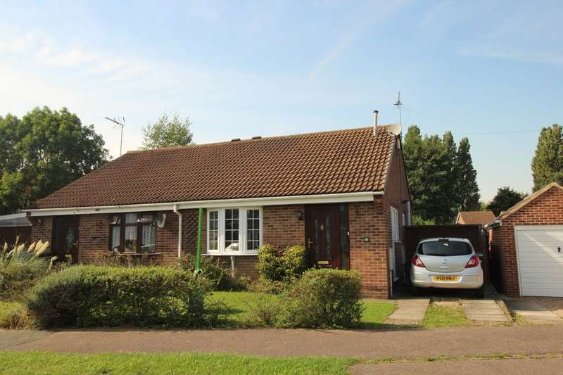 2 Bedrooms Semi Detached Bungalow for sale in Mondello Drive, Alvaston, Derby, DE24