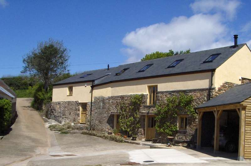 4 Bedrooms Barn Conversion Character Property for sale in Shearlangston Barn, Modbury, Ivybridge