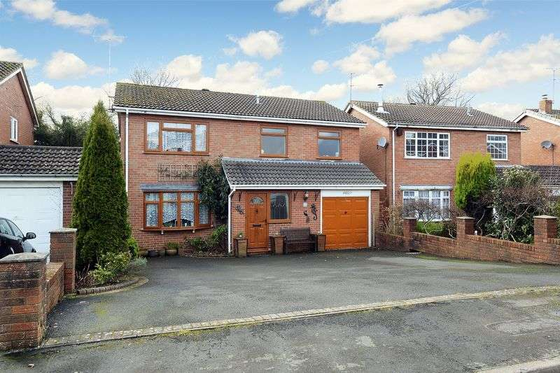 4 Bedrooms Detached House for sale in Redstone Drive, Highley