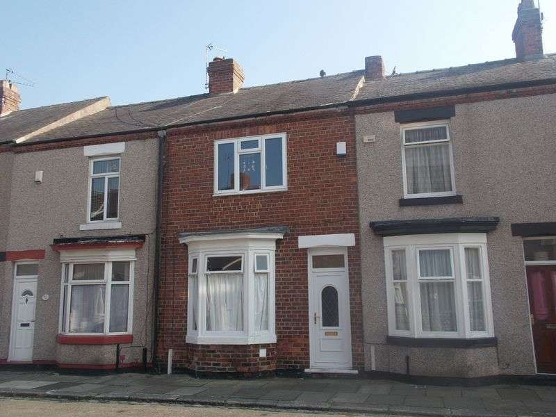 2 Bedrooms Terraced House for sale in Barron Street, The Denes, Darlington, DL3 6RA