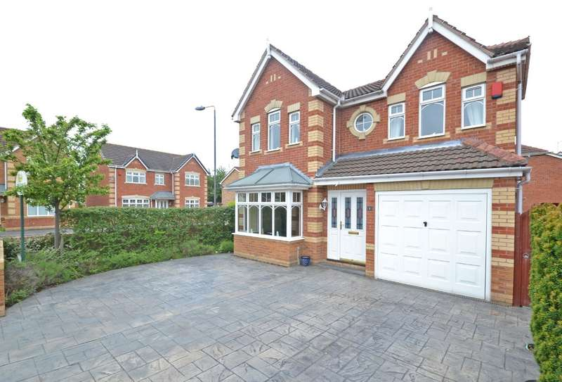 4 Bedrooms Detached House for sale in Gosside Grove, Normanton