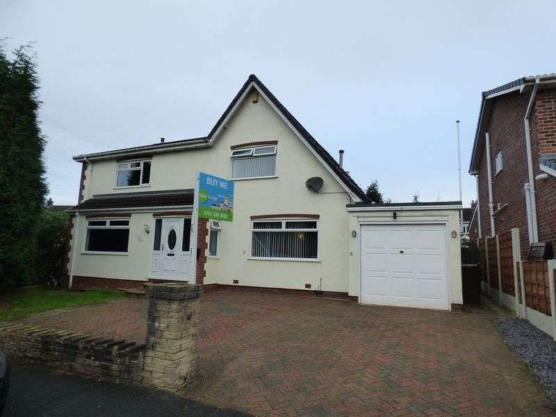 4 Bedrooms Detached House for sale in Kingsley Close, Denton, Manchester