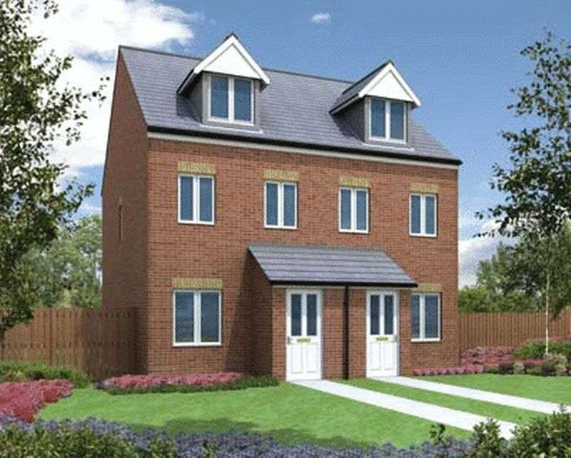 3 Bedrooms Terraced House for sale in Plot 58 The Souter, Ruston Drive, Barnsley, S71