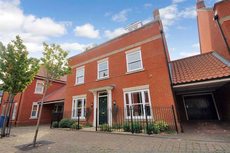5 Bedrooms Town House for sale in Sloeberry Road, Ipswich