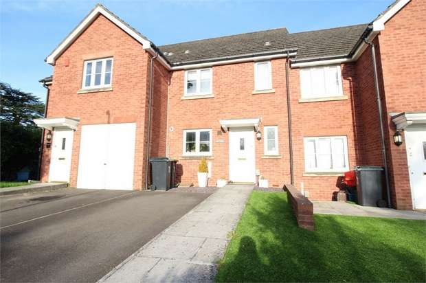 3 Bedrooms Terraced House for sale in Nythfa, Stelvio Park Drive, NEWPORT