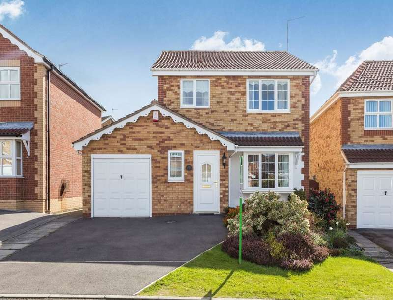 3 Bedrooms Detached House for sale in Meadowgrass Close, Littleover, Derby, DE23