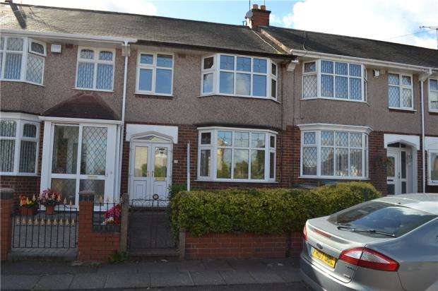 3 Bedrooms Terraced House for sale in Sapphire Gate, Copsewood, Coventry, West Midlands