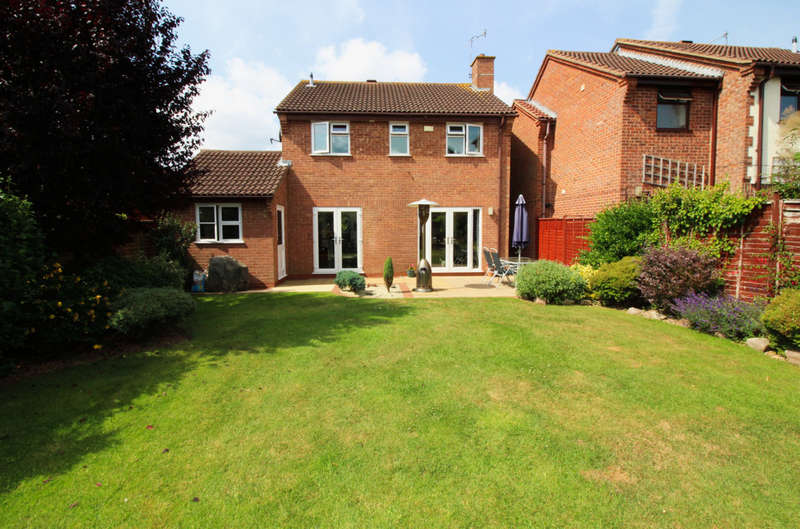 4 Bedrooms Detached House for sale in Tansy Close, Worcester, WR5