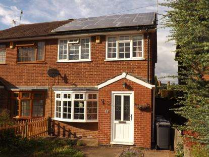 3 Bedrooms Semi Detached House for sale in Templeman Close, Ruddington, Nottingham, Nottinghamshire