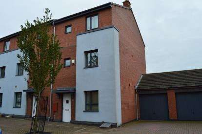 4 Bedrooms Semi Detached House for sale in Blackberry Avenue, Off Cherry Orchard, Lichfield, Staffordshire