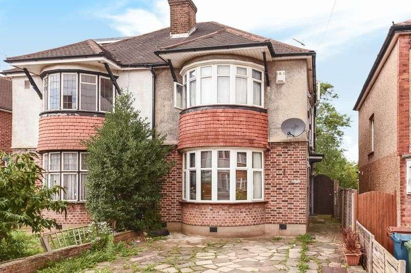 4 Bedrooms Semi Detached House for sale in Harrow,HA1