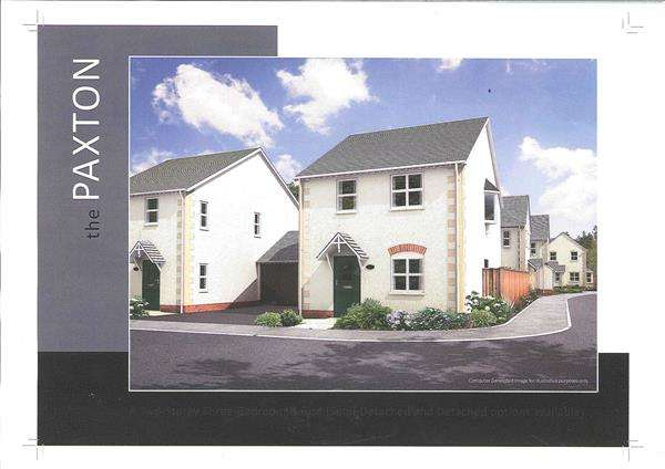 3 Bedrooms Semi Detached House for sale in The Paxton, The Oaklands, Carmarthen Road, CROSS HANDS, Llanelli