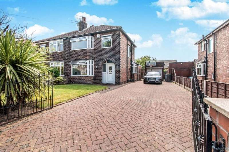 3 Bedrooms Semi Detached House for sale in Newearth Road, Worsley, Manchester, M28