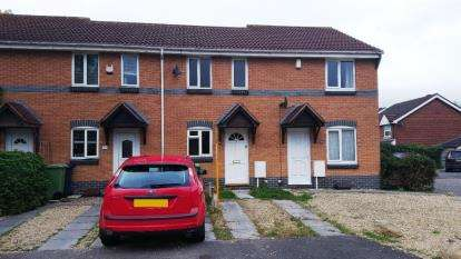 2 Bedrooms Terraced House for sale in Raleigh Close, Churchdown, Gloucester, Gloucestershire
