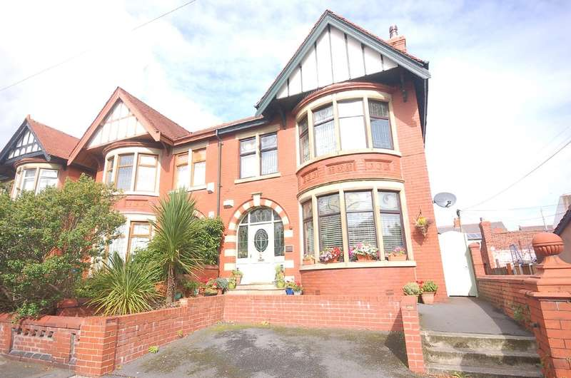 4 Bedrooms Semi Detached House for sale in Reads Avenue, Blackpool
