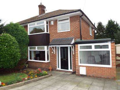 3 Bedrooms Semi Detached House for sale in Thornley Crescent, Woodley, Stockport, Cheshire