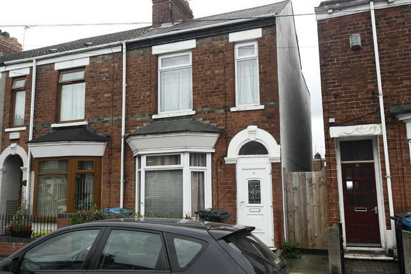 3 Bedrooms End Of Terrace House for sale in Worthing Street, Hull, HU5 1PE
