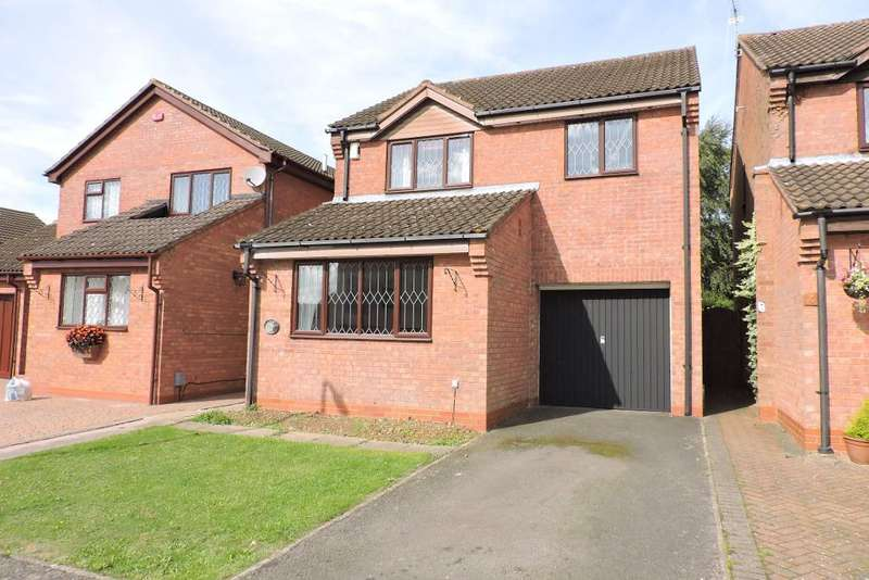 4 Bedrooms Detached House for sale in Jaywood, Luton, Bedfordshire, LU2 8ES