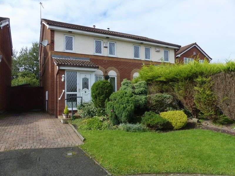3 Bedrooms Semi Detached House for sale in Woodlea, Firwood Park, Chadderton